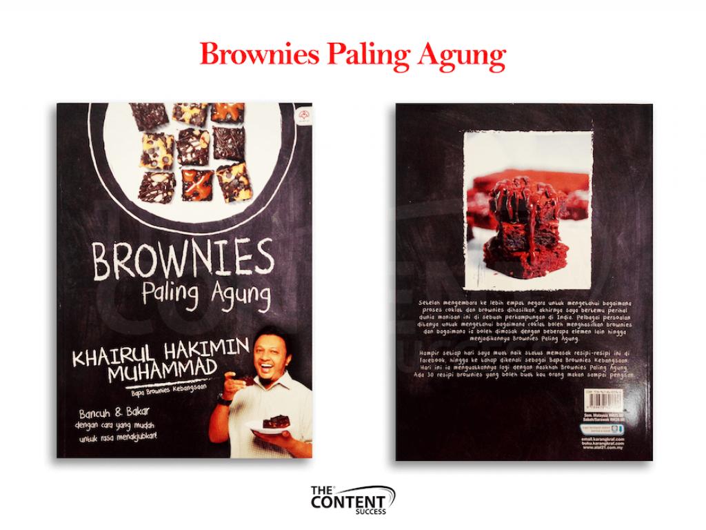 cover buku website Brownies